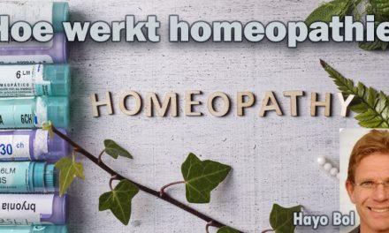 Homeopathie-middel levert informatie