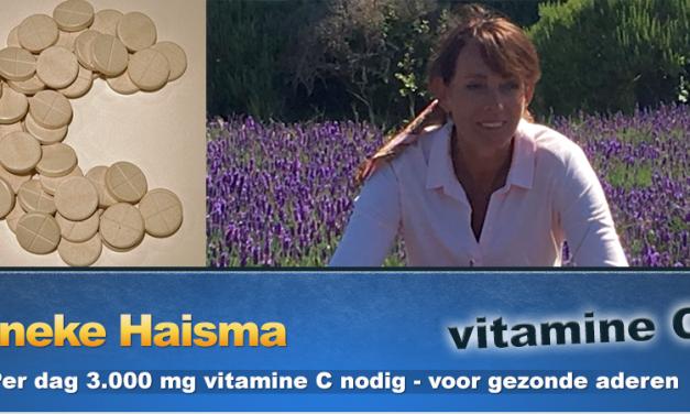 Vitamine C belangrijk voor vaten