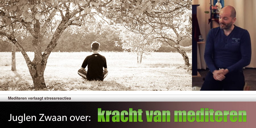 Juglen over anti-stress-effect van meditatie