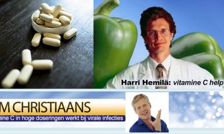 Vitamine C helpt bij infectie