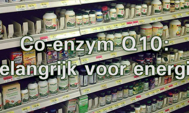 Jan Blaauw over co-enzym Q10