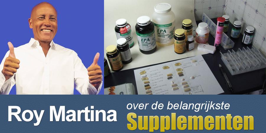Supplementen die Roy Martina aanraadt