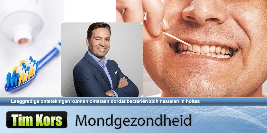 Sluimerende ontsteking in mond