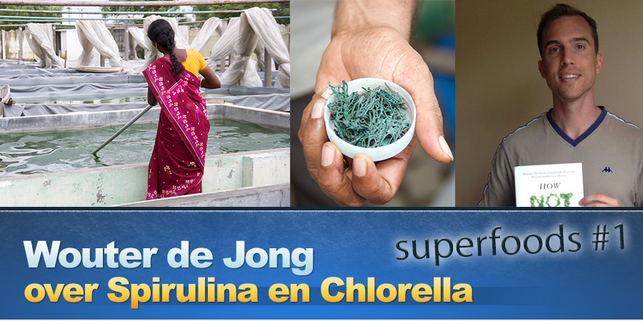 Optimale dosis van Spirulina en Chlorella