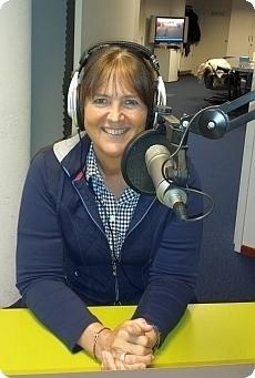Yvonne in de studio